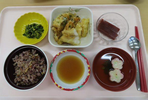 行事食(勤労感謝の日)