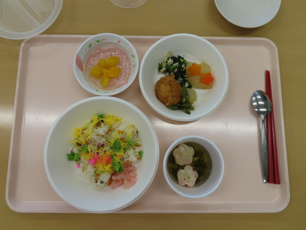 行事食(ひな祭り)